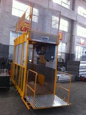 Operator Cab Construction Material Man dan Material Hoist Dual Cage ISO