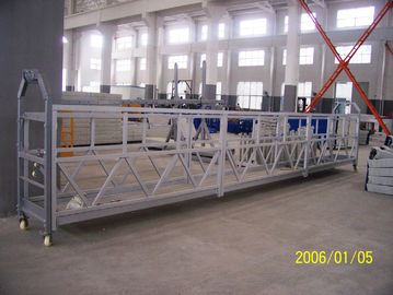 800 Rated Load Personalized Rope Steel Suspended Rope Platform Untuk Pemeliharaan Bangunan
