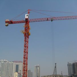 12 ton Max Lifting Capacity Tower Topless Crane 101m Height Under Hook