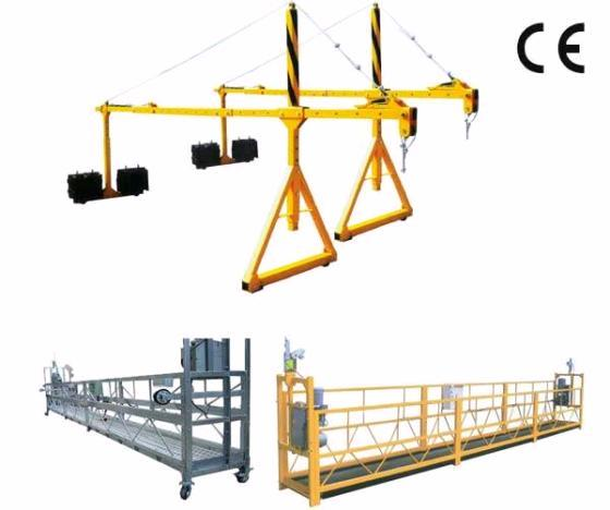 High Working Suspended Platform Cradle Scaffold Systems Building Cleaning