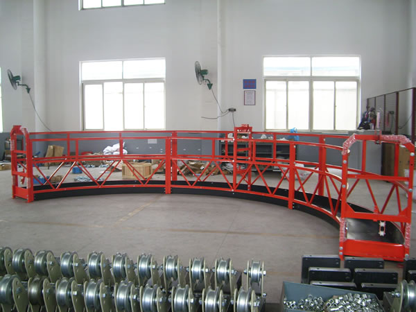 Temporary Suspension Construction Cradle , Lifting Cradle Wall Painting